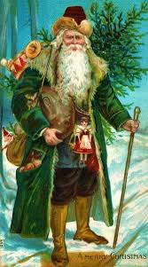 Did Santa Claus Used to be Green